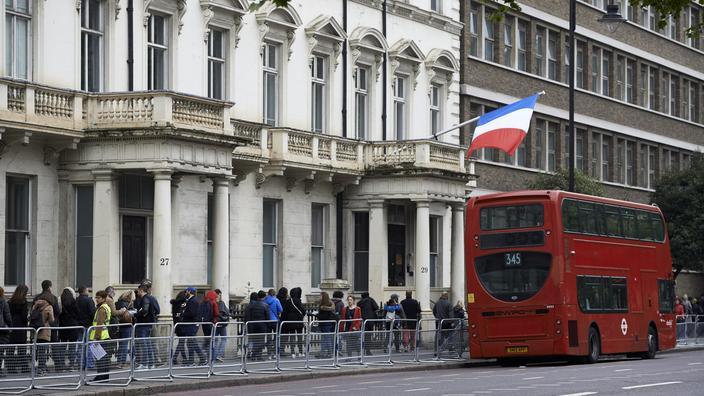 Le lycée français Charles de Gaulle, à Londres.