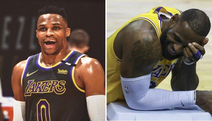 NBA La nouvelle coupe de cheveux WTF de Westbrook