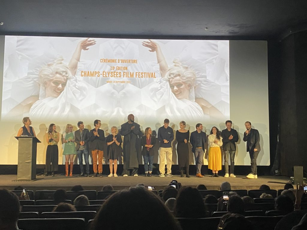[ Live report ]    Opening of the Champs-Ellis Film Festival