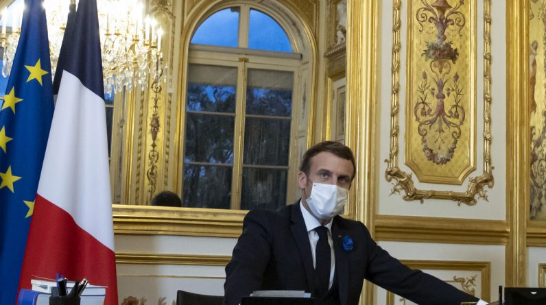 Macron and Biden compromised like a phone call