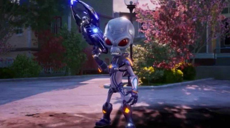 Playstation Fuit Par Erreur Destroy All Humans! 2 Refaire