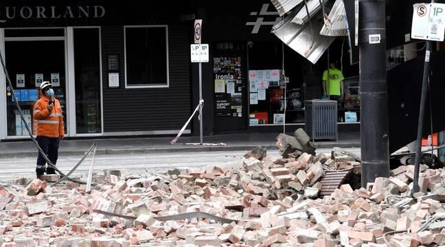 Rare earthquake spreads panic in Melbourne
