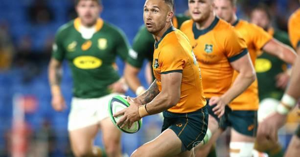 Rugby - R.  Championship - Quad Cooper and Australia face South Africa