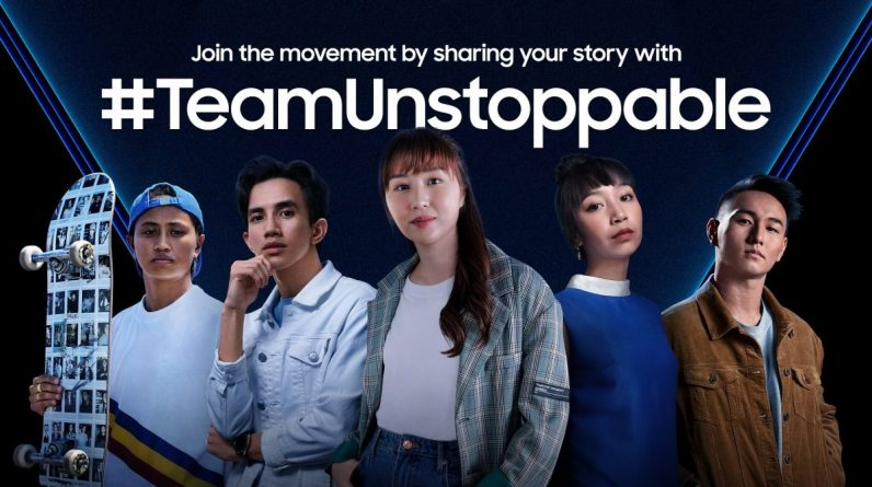 Samsung launches regional campaign #TeamUnstoppable calls on General Z to express their inspiration