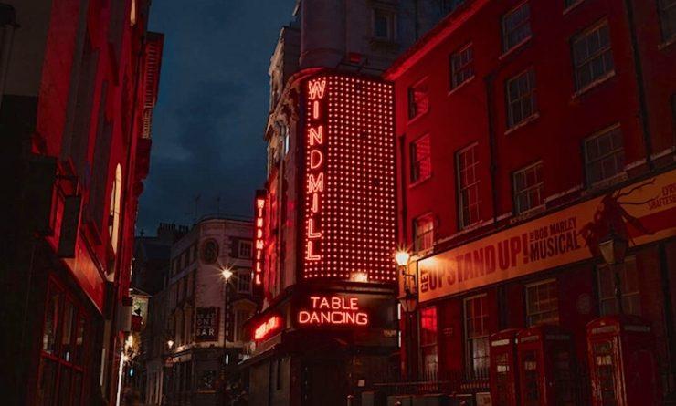 Windmill Soho, l'ancien théâtre de Londres connu pour ses dîners-spectacles