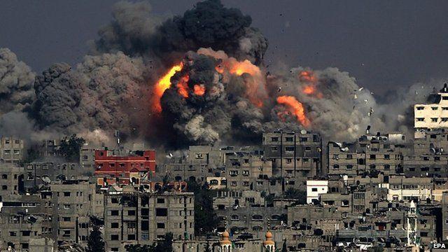 Palestine : L'aviation israélienne bombarde la bande de Gaza