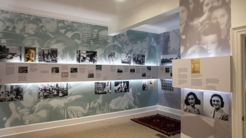 """The first """"Anne Frank"""" center opened in North America.  - Israel Valley"""