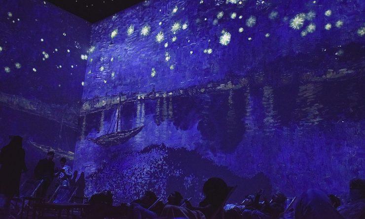Expérience immersive Van Gogh: Nuit étoilée sur le Rhône