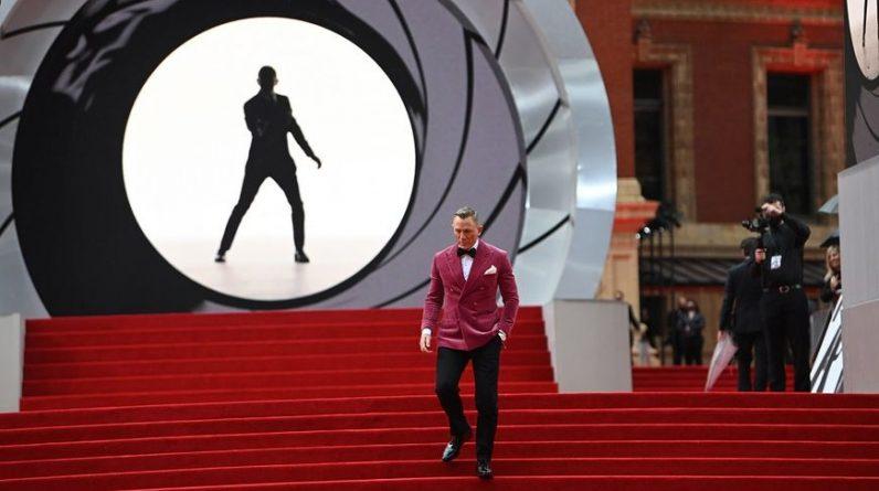 """Le dernier opus des aventures de James Bond, """"Mourir peut attendre"""", a été projeté en avant-première ce mardi soir à Londres."""
