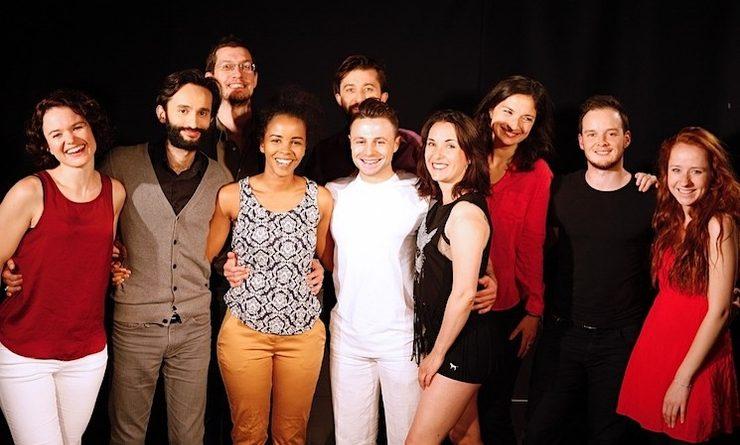 Les comédiens de la troupe Tamise en scène à Londres