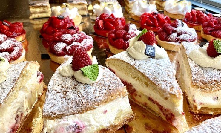 Les délicieuses pâtisseries de la Maison Puget à Londres dans le quartier de Notting Hill