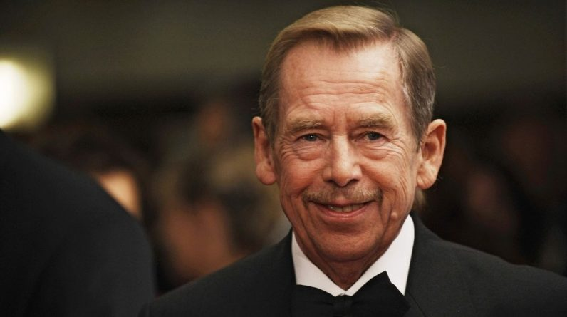 Václav Havel's first bench in Latin America was released in Peru