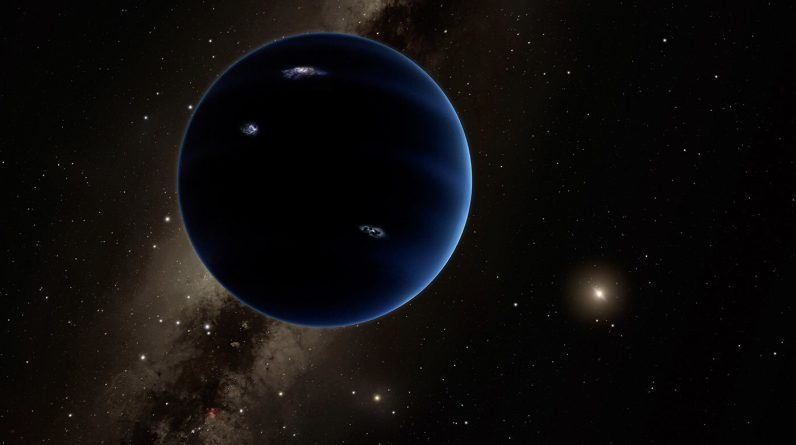 We know where he is.  Mysterious Planet Nine is closer than we thought