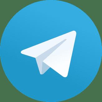 Telegram symbol