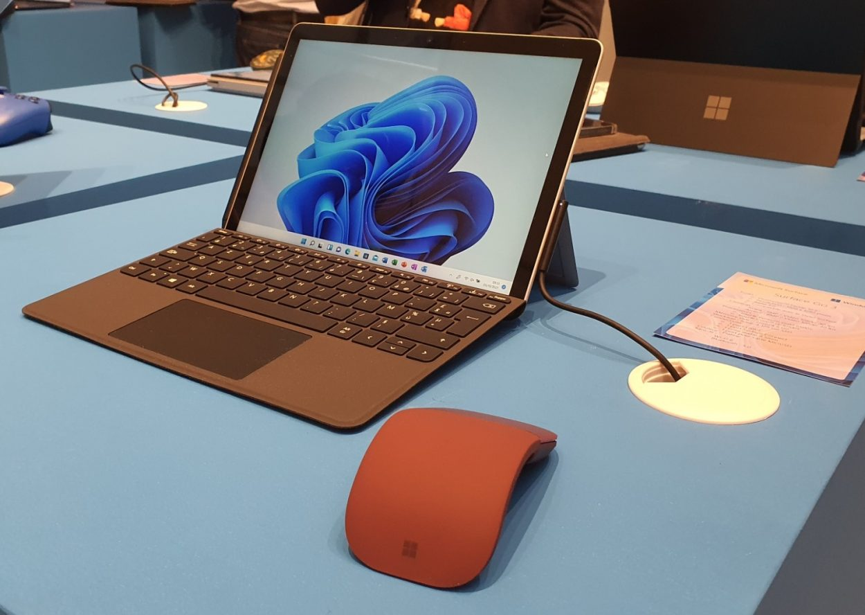 In the presentation of the Surface Pro 8 Surface 2021 range