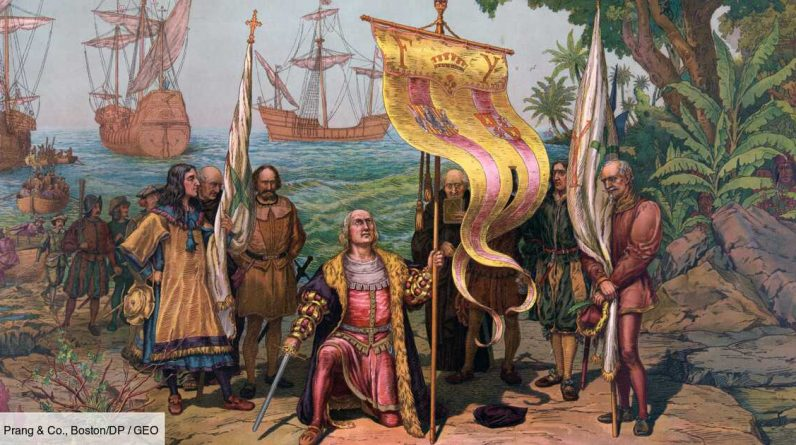 Did Italian sailors know that the United States existed 150 years before Christopher Columbus?
