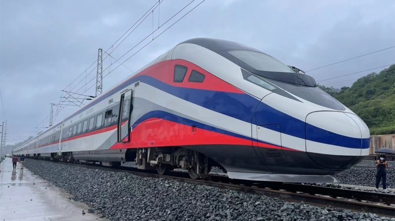 China shifts high-speed train to Laos capital