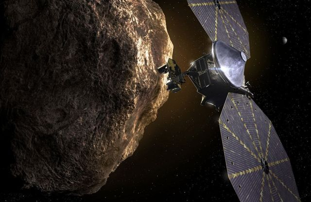 Lucy in asteroids (fiction)