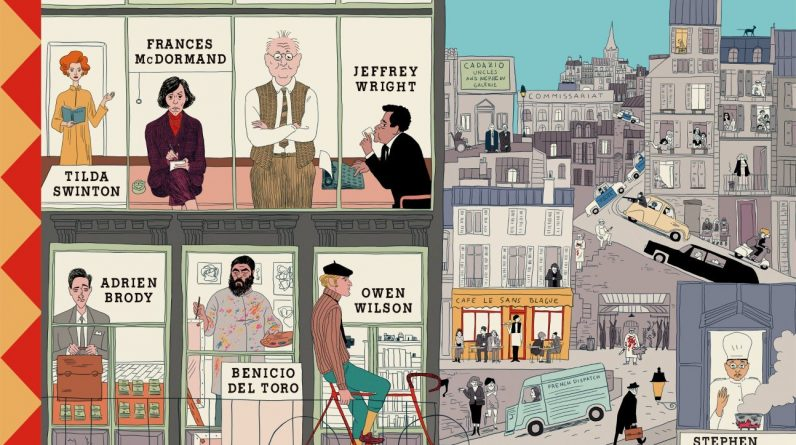 """Review / """"The French Dispatch"""" (2021) de Wes Anderson"""
