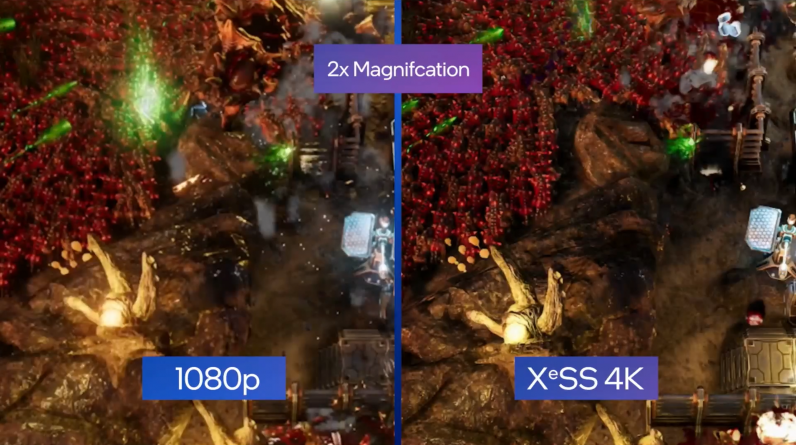 """High-definition technology """"XeSS"""" installed on Intel GPU """"Arc"""", the first game demo-PC watch"""