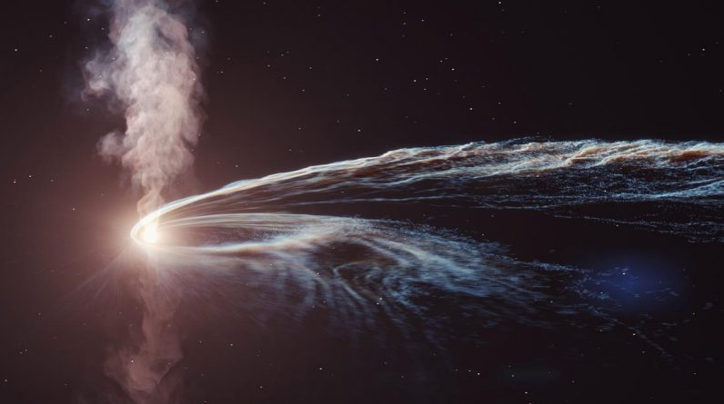 """2019 Black hole breaks stars and emits radio waves, source of """"ghost particles"""" not found 