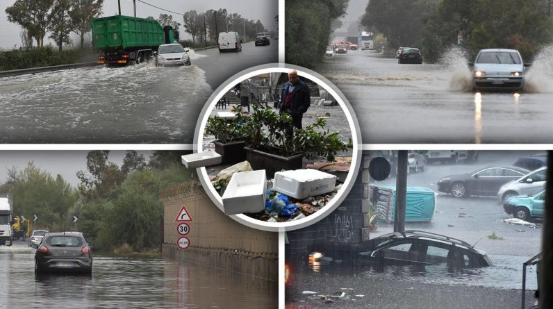 Apocalypse in Sicily A hurricane destroyed cities, streets turned into rivers, another missing today