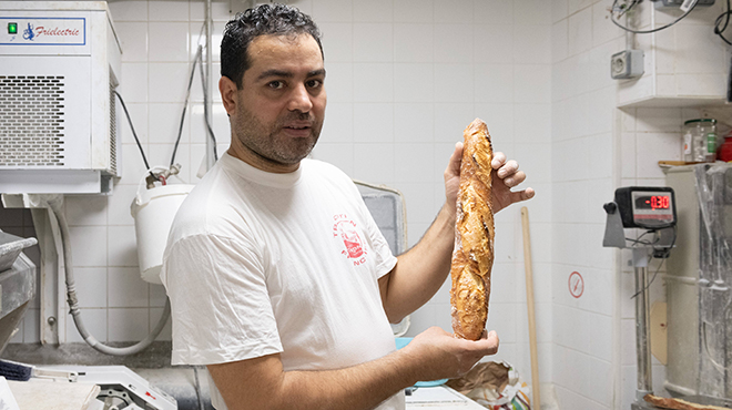 Baker winner of contest for best baguette in Paris at the center of a controversy: Will he deliver the Elysee?