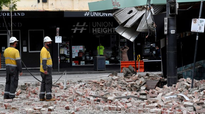 Earthquake sows panic in Melbourne, unaccustomed to earthquakes