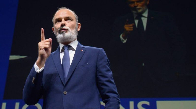 Former French Prime Minister Edouard Philippe has announced the name of his new political party