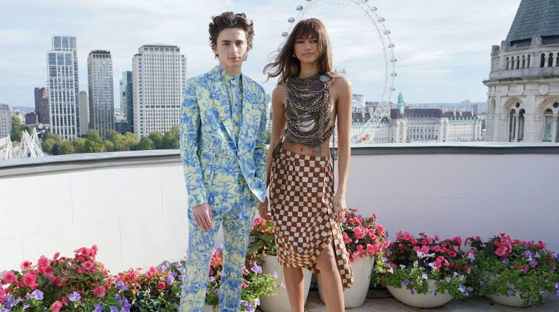 Gentia and Timothy Solomon, an enchanting couple in London