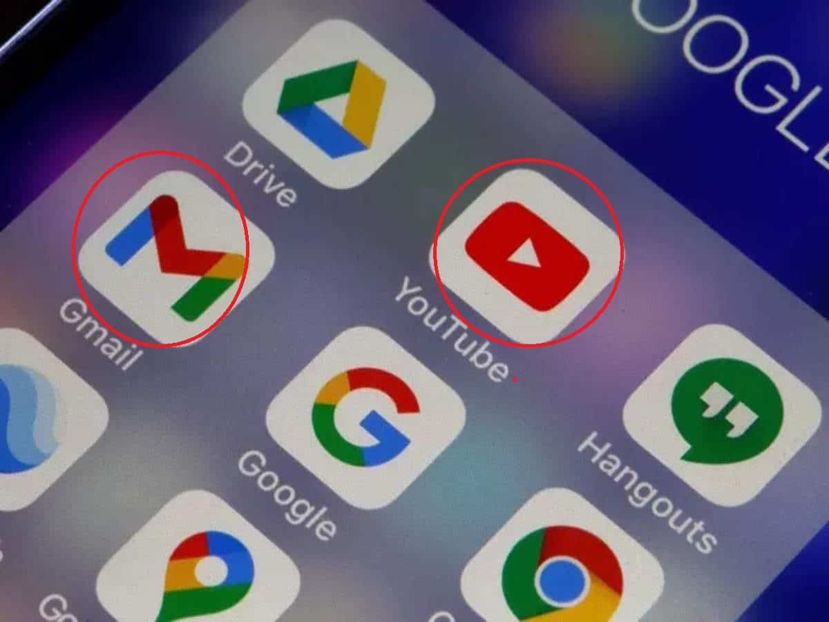 Against you .. Accessing Gmail and YouTube and adding it to 150 million users Adds an amazing change