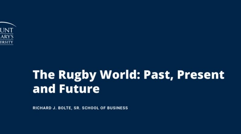 Hosted by Mount St. Mary's Virtual World Rugby Forum on October 20