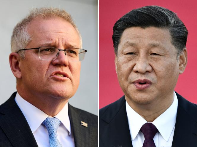 Australian Prime Minister Scott Morrison (left) to meet with Chinese President Xi Jinping