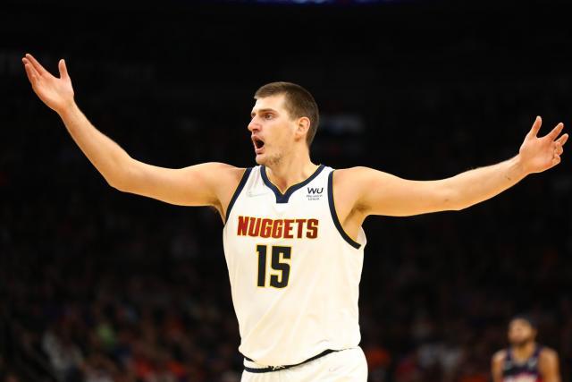 In the NBA, Nicola Jogic bosses Denver's victory over Phoenix