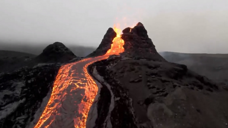 Index - Tech -Science - NASA will cool the volcanoes to prevent them from erupting