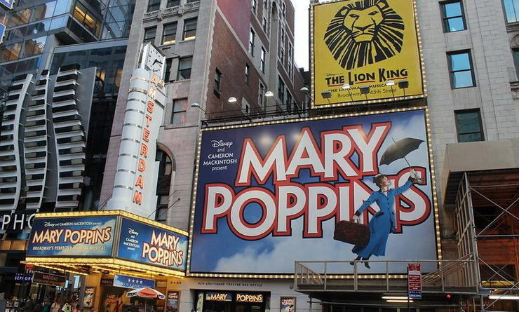 Affiche Mary Poppins