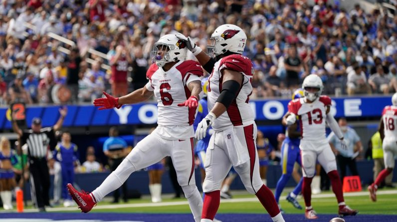 NFL: The Cardinals beat the Rams and set the perfect record