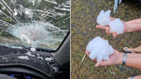 .Net Natural Disasters - Heavy hail in eastern Queensland (Australia)