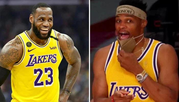 NBA LeBron et Westbrook ont bizuté un rookie