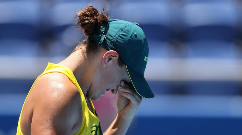 Tennis: Australia lose Ashley Party in the Billy Jean King Cup