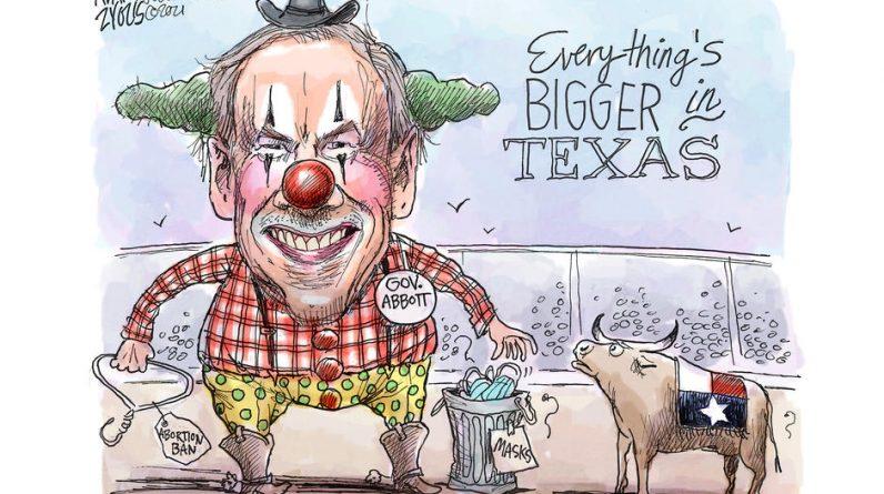 Texas, a reactionary American laboratory