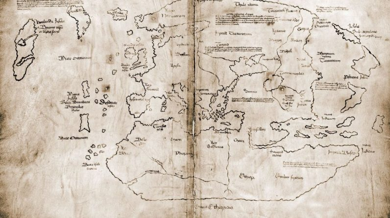 """The map of Vinland is a fake """"witness"""" to the Vikings' voyages in the United States"""