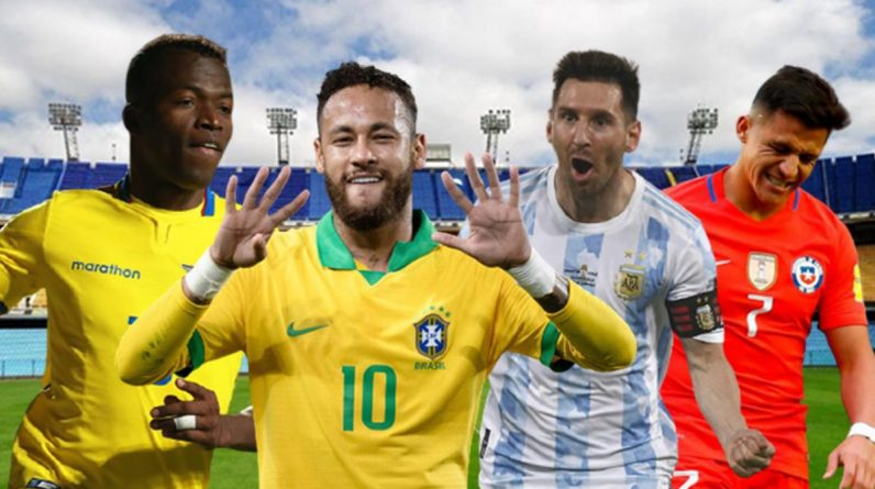 The name of the qualifier is slowly taking shape in South America