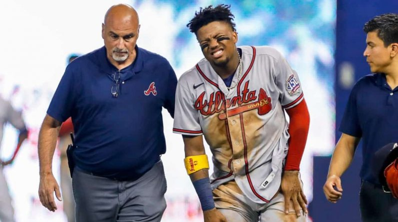 The rehabilitation process for Ronald Aguna Jr. is going well.