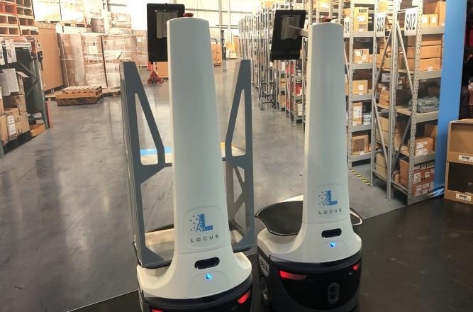 VF Corporation automates its logistics through Locus Robotics