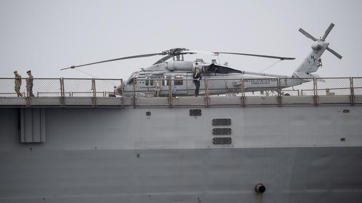 Le Sikorsky SH-60 Seahawk est un hélicoptère multirôle capable d